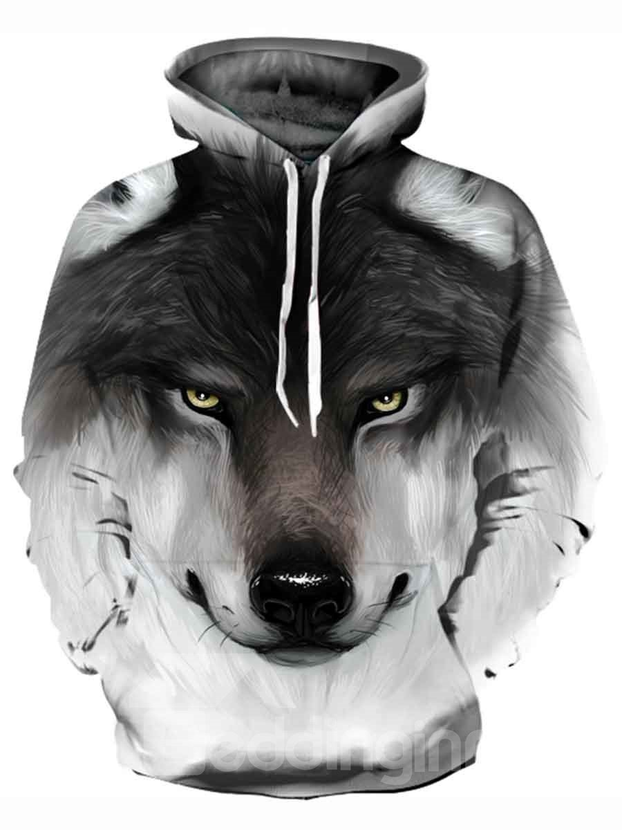 Funny Design Polyester Lightweight 3D Painted Hoodie