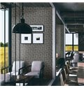 Durable and Moisture Resistance Faux Brick Wallpaper