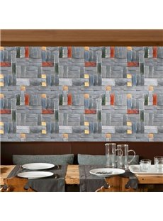 3D Effect Self-Adhesive Textured Stone Wallpaper