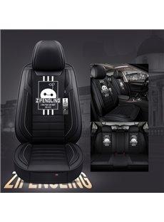 Creative Style Cartoon Pattern Linen Truck Seat Cover