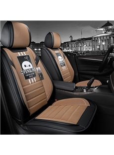 Creative Style Cartoon Pattern Linen Truck Seat Cover