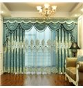 Elegant Embroidered Home Decor Semi Sheer Curtains