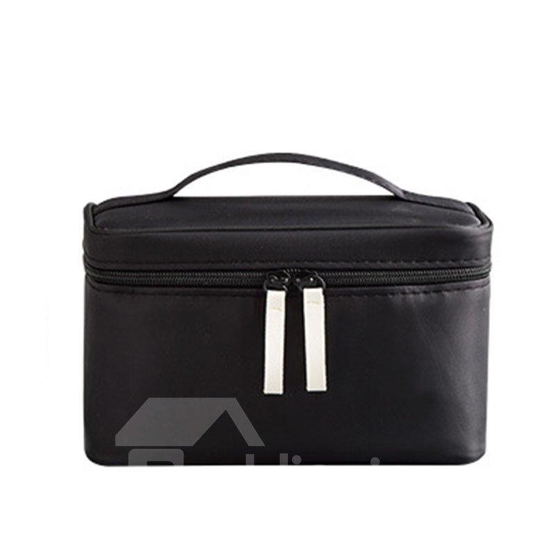 Large Capacity Hand-held Nylon Travel Cosmetic Bag