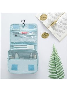 276T Reversible Twill Waterproof Portable Travel Cosmetic Bag