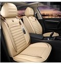 Sport Style Color Block PVC Leather Universal Car Seat Cover