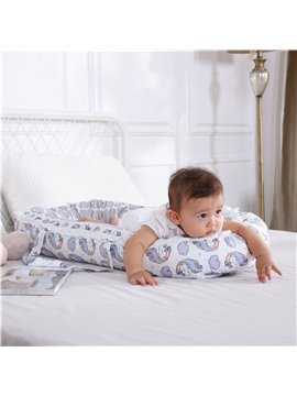 Medium-sized Portable Unicorn Printed Baby Bionic Bed