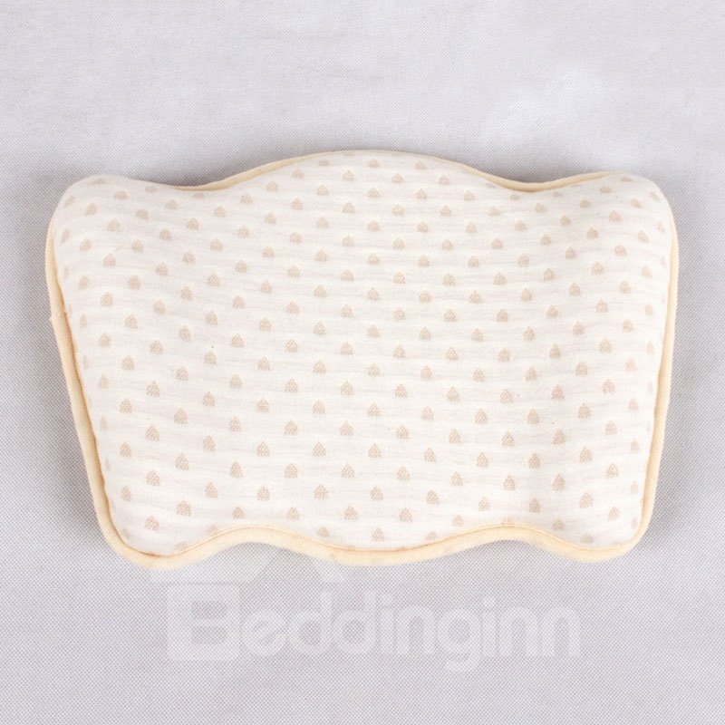 The Neck Guard Breathable Crown Printed Baby Memory Pillow