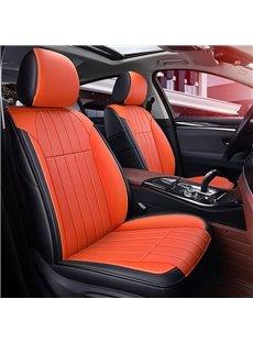 Plain Pattern Modern Style Leather Custom Car Seat Cover