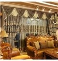 Blackout Classical Luxury Grommet Top Curtain Panels Living Room and Bedroom Curtain