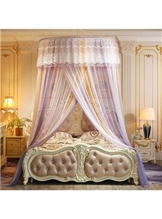 Widen Overlapping Doors Polyester Hanging Bed Nets/Canopy