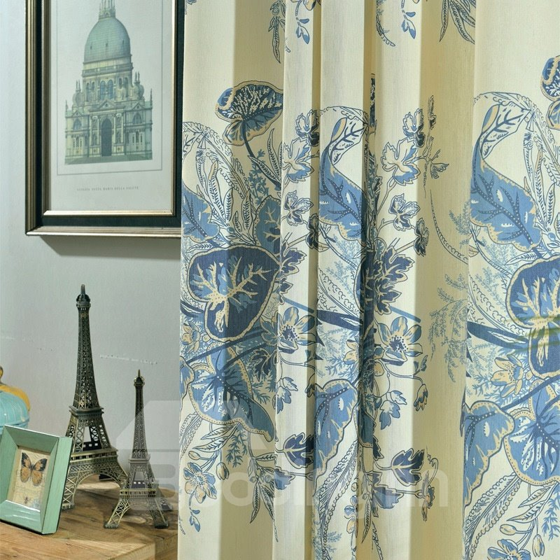 Classical High Quality Blackout Grommet Top Living Room and Bedroom Curtain