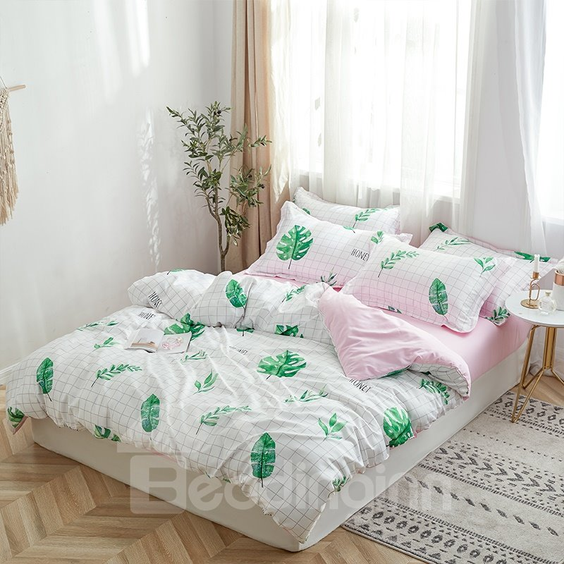 Snug and Breathable Washed Silk 4-Piece Bedding Sets /Duvet Cover