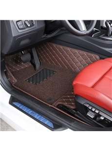 Plain Pattern XPE Material Coil Waterproof Custom Fit Car Floor Mat