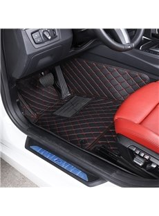 Plain Pattern XPE Material Waterproof Custom Fit Car Floor Mat