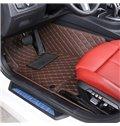 Plain Pattern XPE Material Waterproof Custom Fit Car Floor Mat