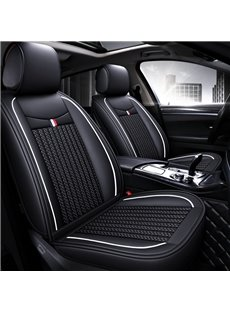 Simple Style Plain Pattern Ice Silk Universal Car Seat Cover