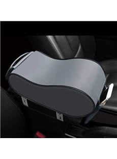 PU Leather Anti-skid Car Armrest Cushion