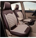 Creative Style Geometric Pattern Ice Silk Universal Single Car Seat Cover