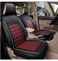 Modern Style Color Block Ice Silk Universal Single Car Seat Cover