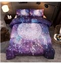 Fade Resistant Starry And Dreamcatcher Printed 3-Piece 3D Polyester Bedding Sets/Duvet Covers