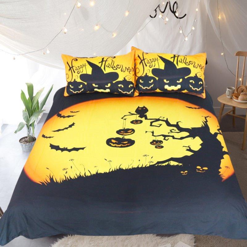 Cleaver Dark Elves Printed Polyester 3-Piece Bedding Sets/Duvet Covers