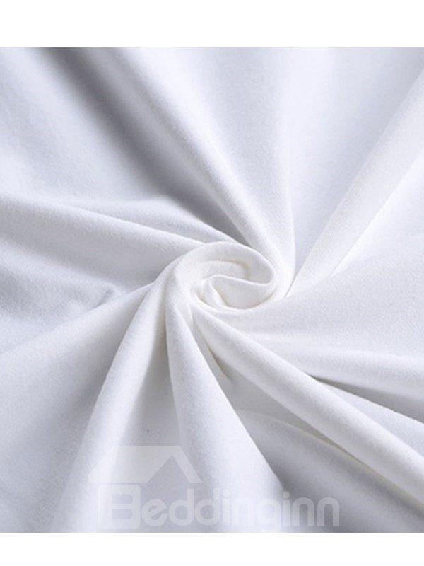 Beddinginn Round Neck Short Sleeve Hand Painted Standard Fall Women