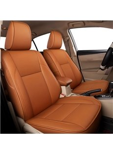 Plain Pattern Simple Style PVC Leather Custom Car Seat Cover