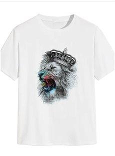 Beddinginn Animal Standard Short Sleeve Round Neck Western Women's T-Shirt