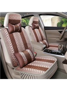 Simple Style Stripe Patttern Machine Weave Universal Car Seat Cover