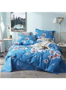 Beddinginn Duvet Cover Set Machine Wash Quilting Seam Four-Piece Set Cotton Bedding Sets