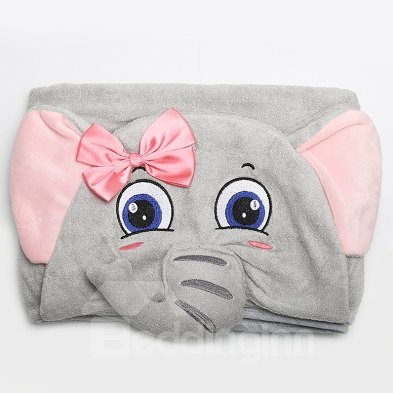Baby Unisex Baby Animal Face Hooded Towel