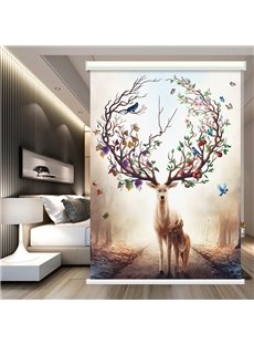 Beddinginn Creative Animal Blackout Curtains/Window Screens