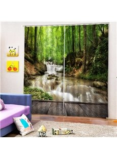 Beddinginn 3D Beautiful Trees Decoration Curtain Modern Curtains/Window Screens