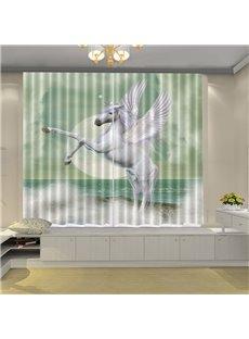 Beddinginn Blackout Creative Horse Decoration Curtains/Window Screens
