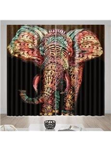 Beddinginn Animal Curtain Decoration Creative Curtains/Window Screens