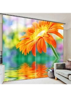 Beddinginn Modern Curtain Floral Blackout Curtains/Window Screens
