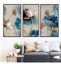 Beddinginn Creative 3D Lotus Pattern Wall Stickers / Wall Decorations