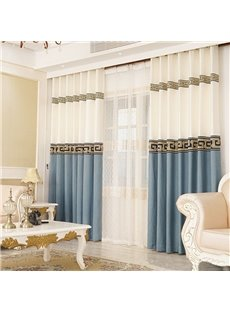 Beddinginn European Curtain Blackout Curtains/Window Screens