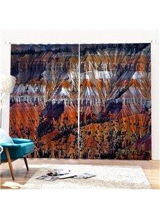 Beddinginn Mountain Blackout Modern Curtains/Window Screens
