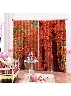Beddinginn Landscape Blackout Modern Curtains/Window Screens