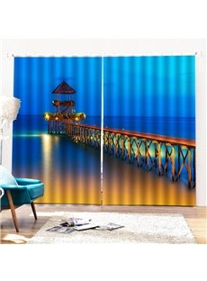 Beddinginn Night Scenery Modern Decoration Curtains/Window Screens