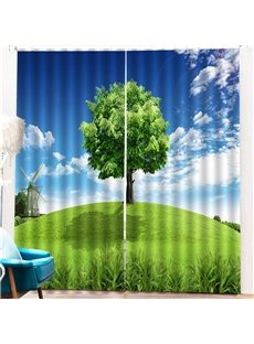 Beddinginn Ultraviolet-Proof Sky Modern Curtains/Window Screens
