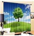 Beddinginn Ultraviolet-Proof Sky Modern Curtains/Window Screens