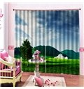Beddinginn Sky Decoration Pastoral Curtains/Window Screens