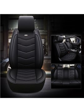 Bbusiness And Leisure Wearproof Polyester Leather All Seasons Universal Fit Seat Cover