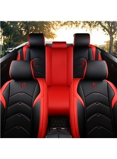 Sports Style Pu Leather Wearable&Ventilate Universal Fit Seat Cover