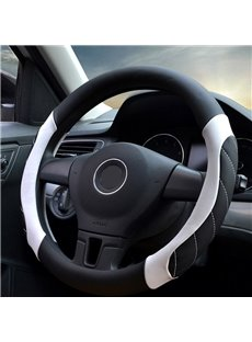 Sports Style Cool Colors PVC Leather Steering Wheel Cover
