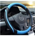 PVC Leather Perforating Design Absorb Sweat & Breathable Steering Wheel Cover