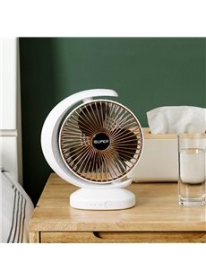 Three Block Wind Regulation Wide-Angle Air Supply Quiet Tuning USB Fans
