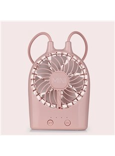Small In Size Portable Backlit LCD High Capacity Lithium-Ion Battery USB Fans